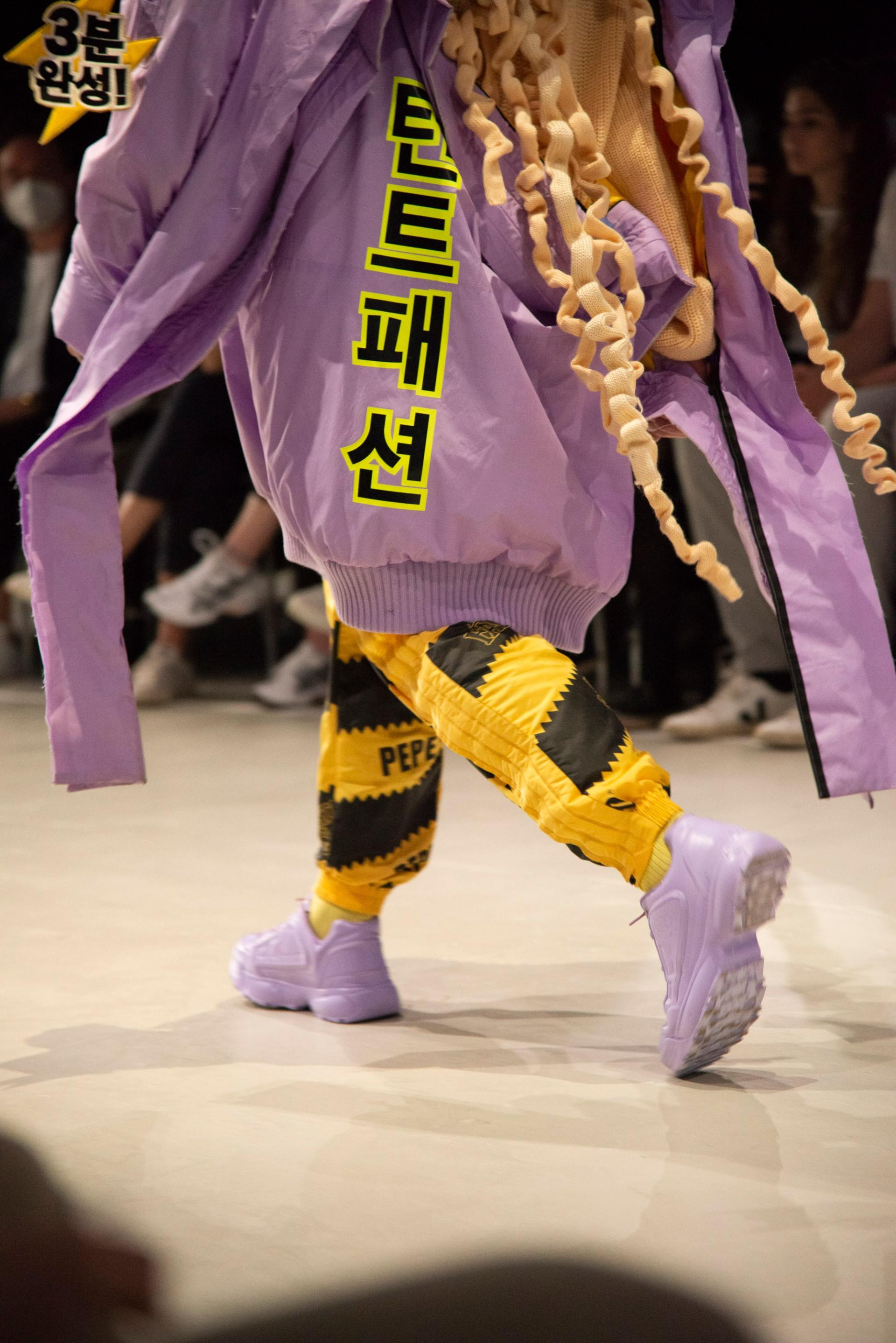 Pepe Jo Kaul, designer | Neo.Fashion.21, 6.9.2021, Graduate Show 2, HAW Hamburg, Alte Münze, Berlin